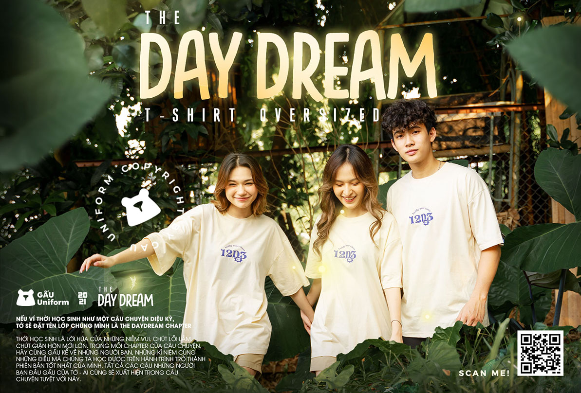 BST ÁO LỚP TSHIRT OVERSIZED THE DAYDREAM CHAPTER