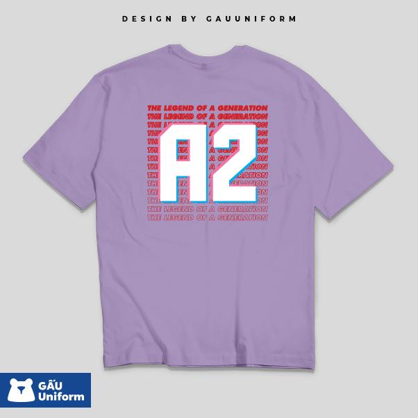 Áo lớp T-Shirt Oversized Tím Khoai